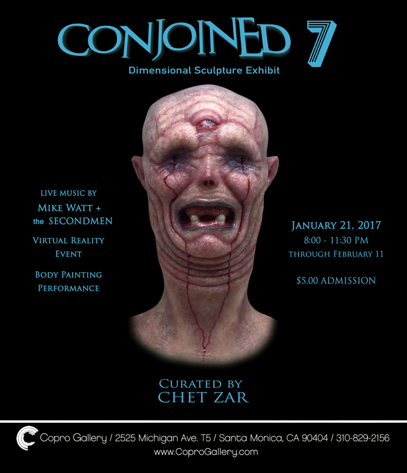 CONJOINED 7 OPENS SATURDAY, JANUARY 21, 2017
